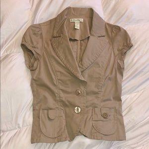 Forever 21 short-sleeve blazer